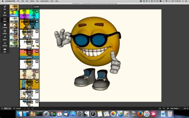 Pixlr_Smiley_4-1024x640 Pixlr Image Editor Review Digital Photgraphy & Artwork iPad OS X Product Reviews