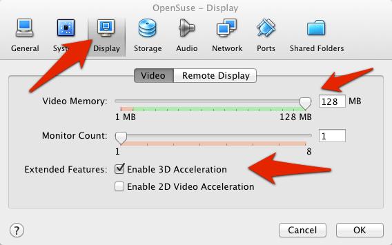 VirtualBox video memory adjustment | larrytalkstech.com