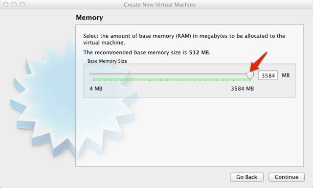 Virtual Box Select Memory | larrytalkstech.com