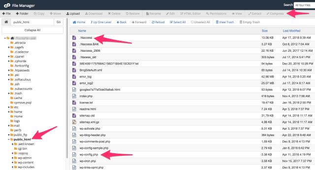cPanel files to edit for SSL | larrytalkstech.com