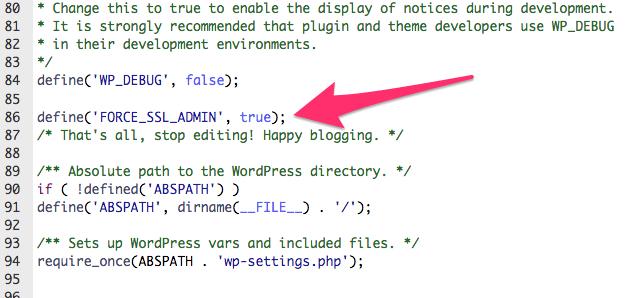 wp-congfig.php edit for SSL | larrytalkstech.com