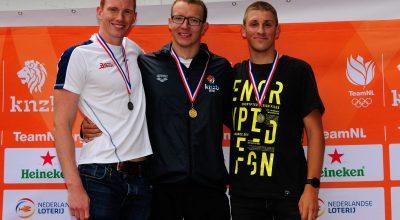 Lars Bottelier wint 3x goud op Nederlands Kampioenschap in Heerjansdam