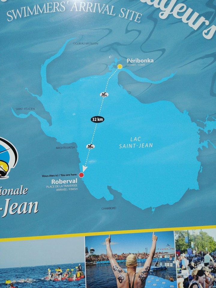 Parcours de Traversée du Lac St-Jean