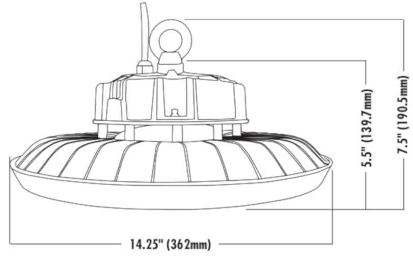 Larsen Lights, LED lights for your equipment !. LED UFO