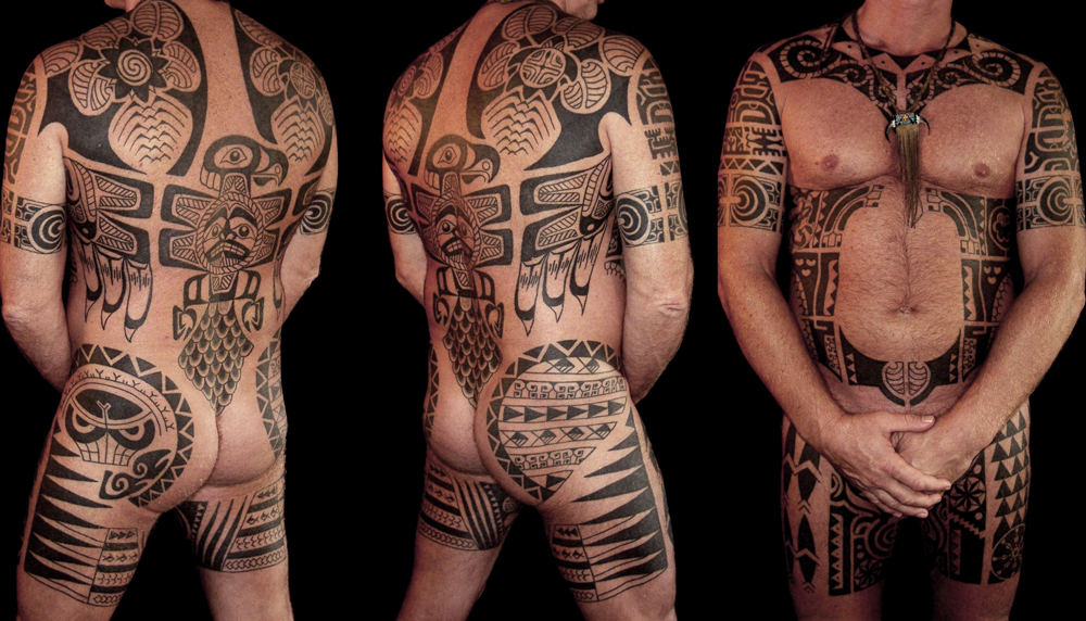 Traditional Tattoo Bodysuit