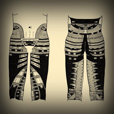 pe a or pants traditional samoan tattoos worldlytattoos. Black Bedroom Furniture Sets. Home Design Ideas
