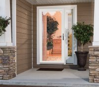 Secure Elegance Security Storm Door