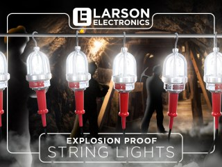 Explosion Proof and In-stock: Portable String Lights