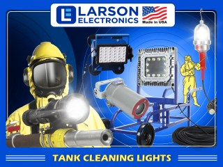 Make Tank Cleaning Safer, More Efficient with Portable LED Lights
