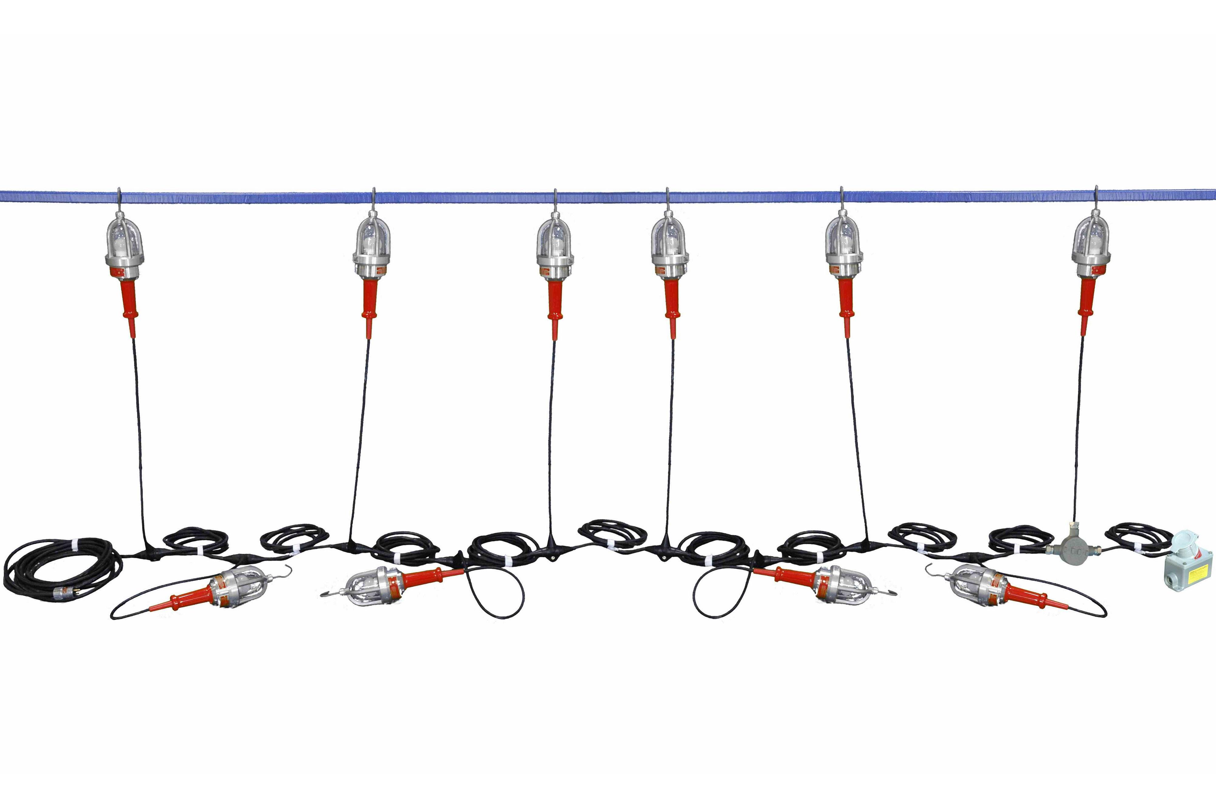 48v Explosion Proof Led String Lights