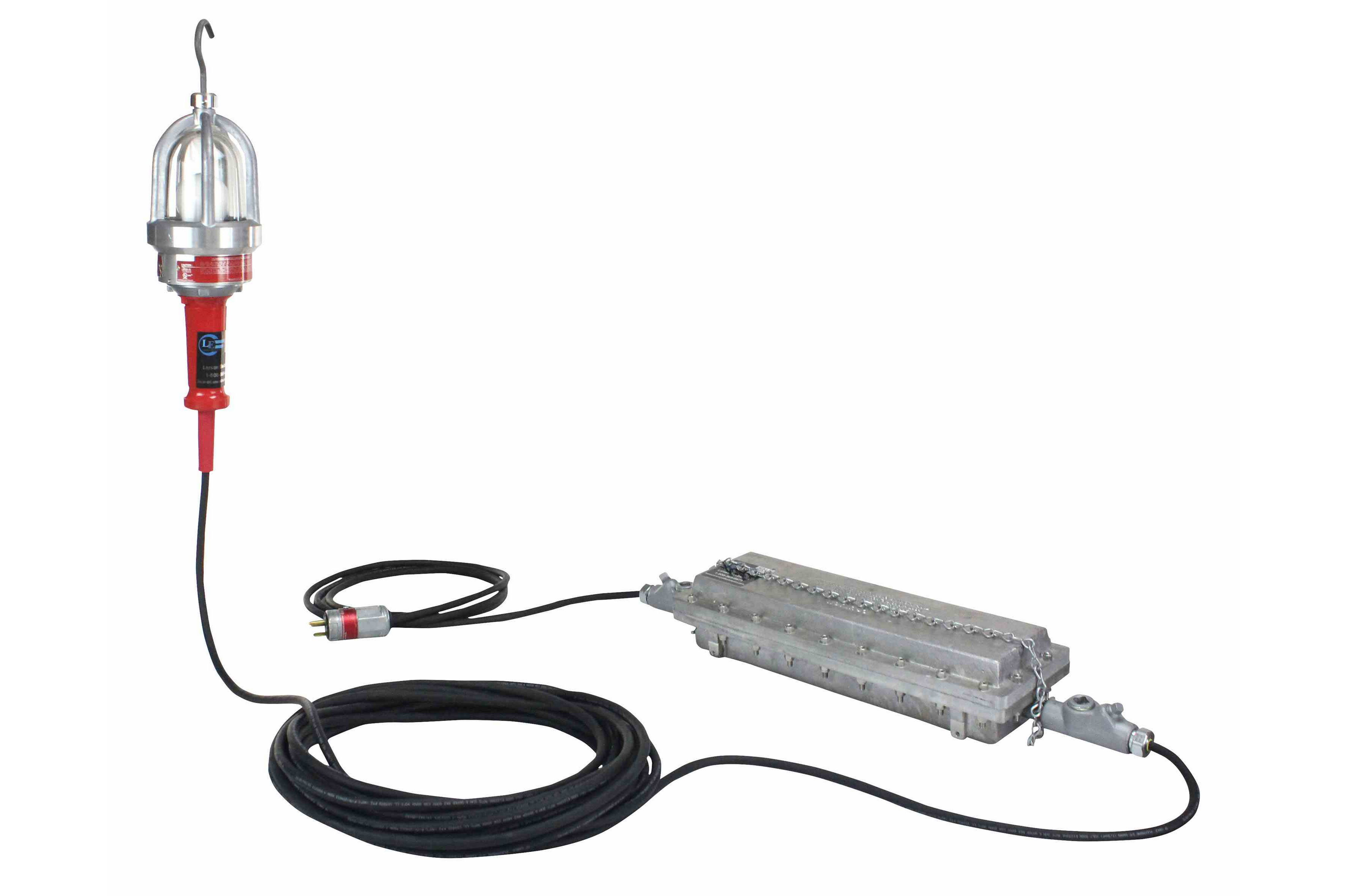 Explosion Proof Drop Light (Hand Lamp) with C1D1 Inline