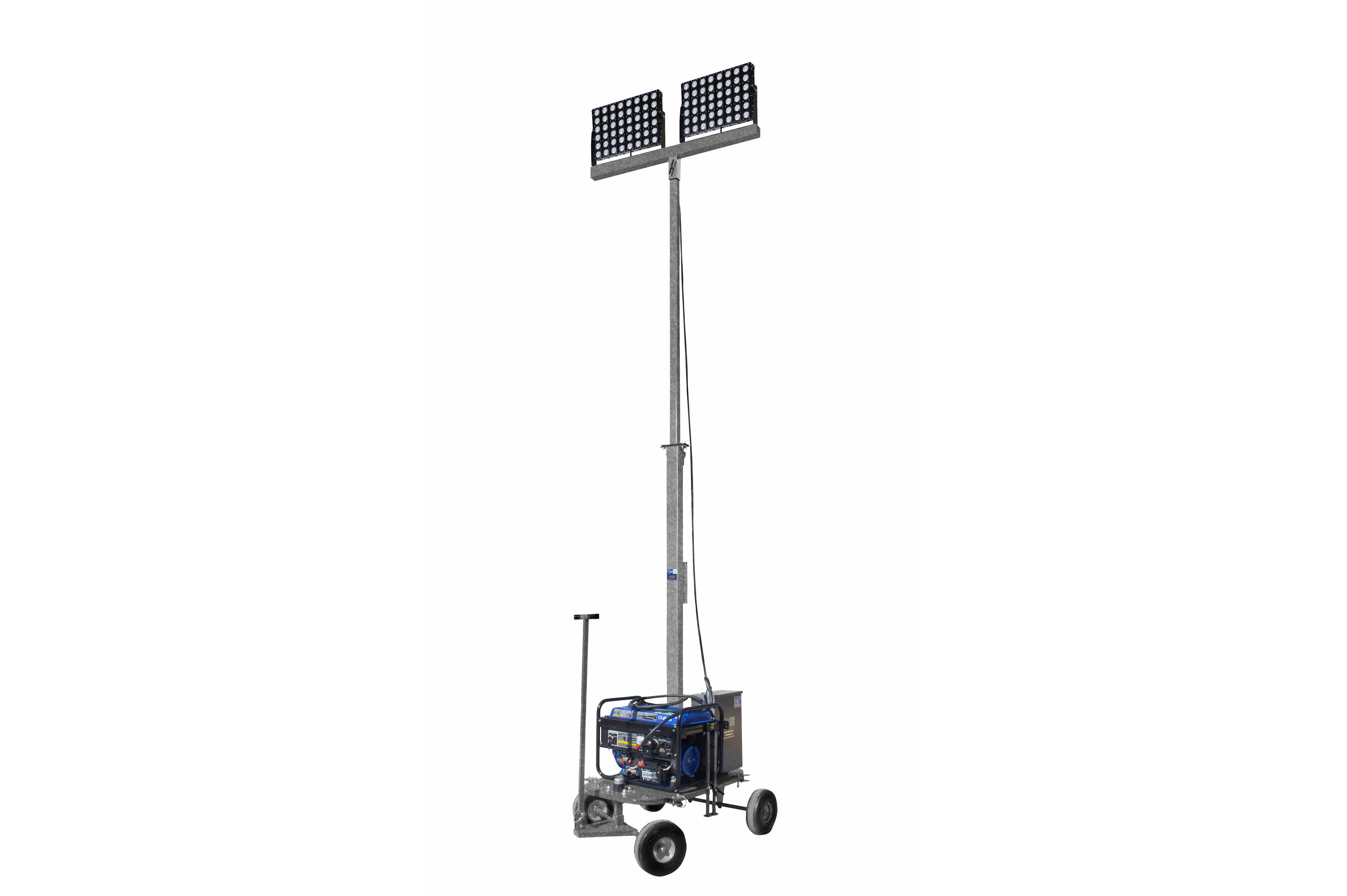 W Non Towable Light Tower W Wheels