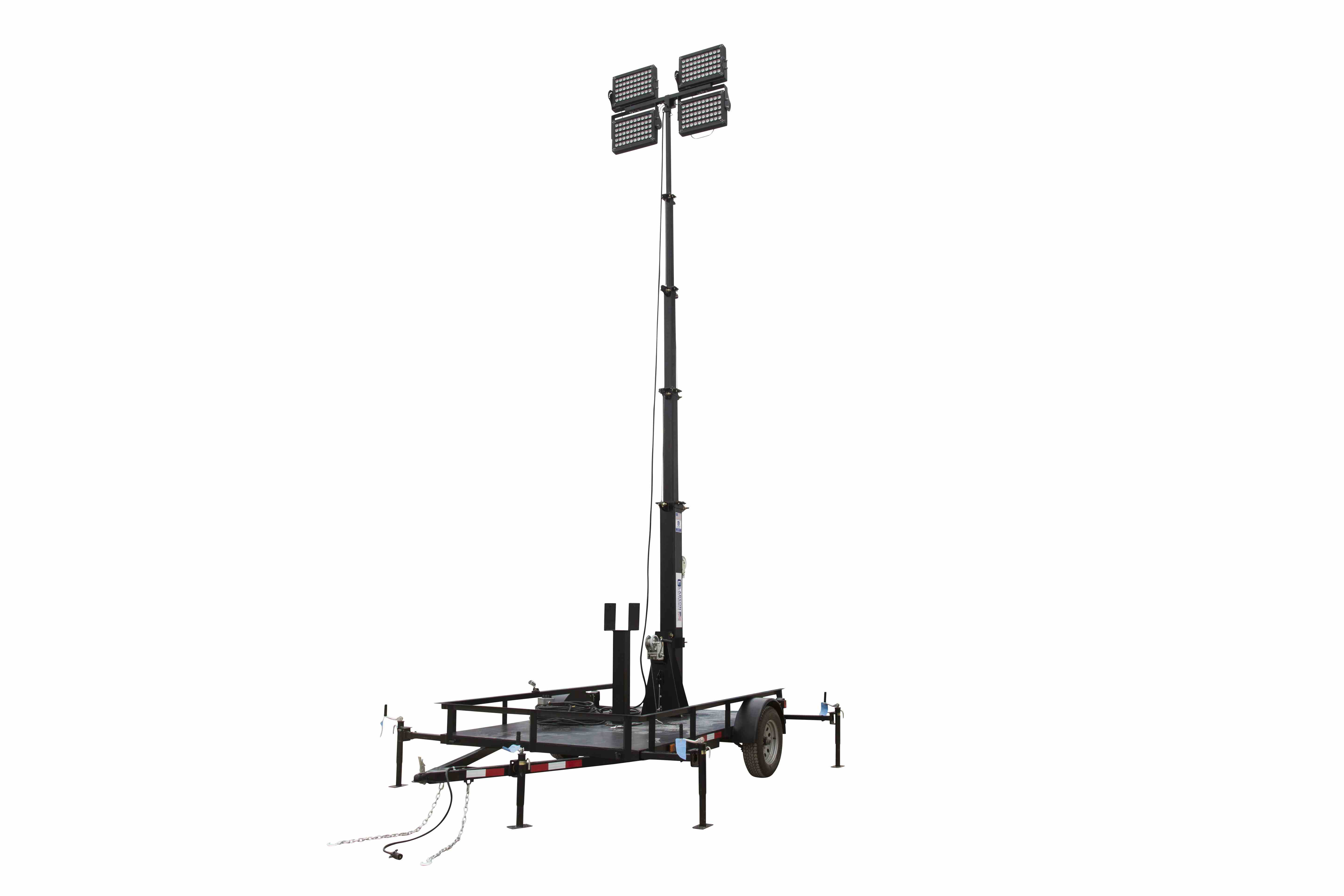 Led 5 Stage Light Tower