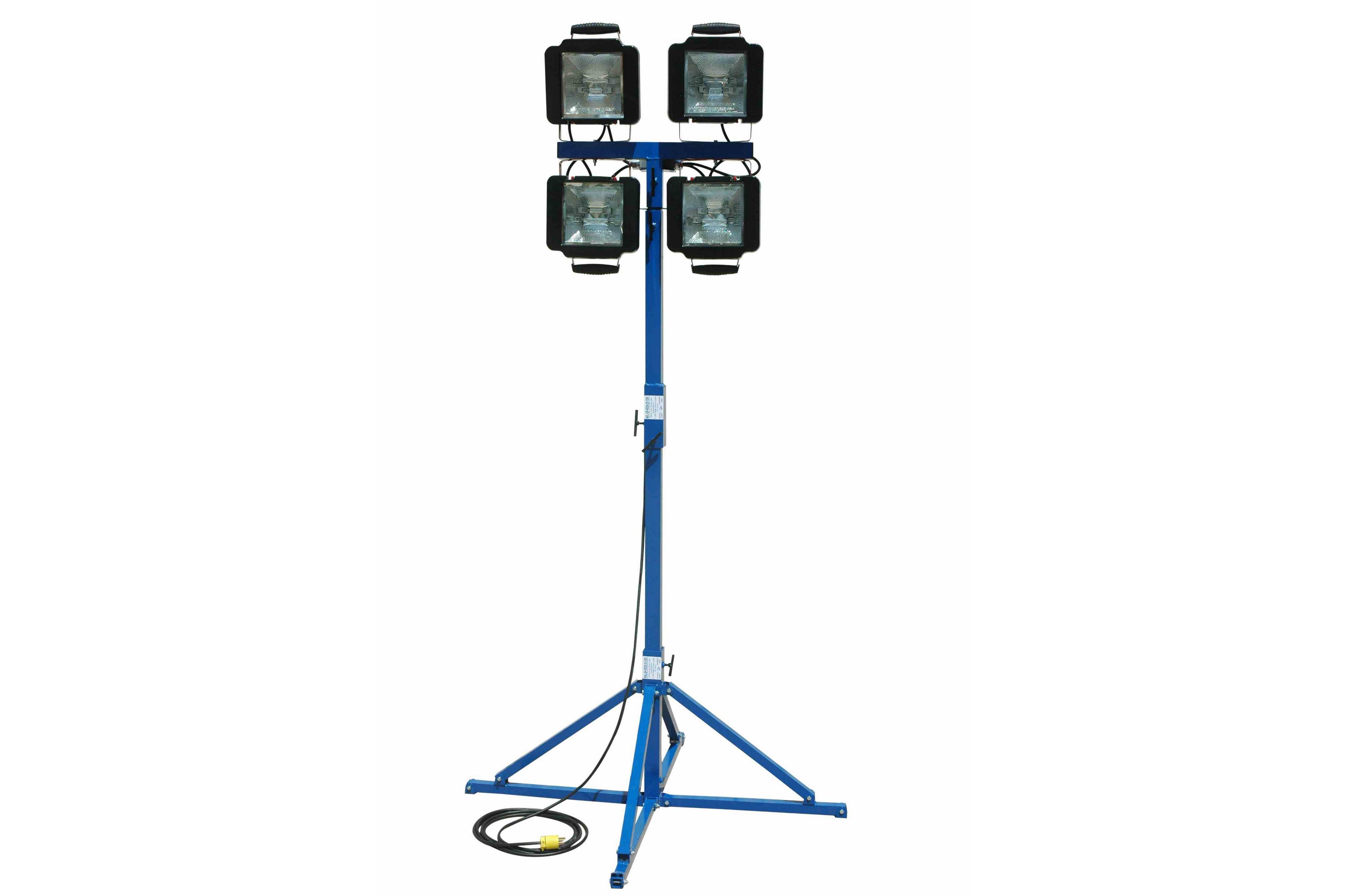 Portable Work Area Flood Light Tower