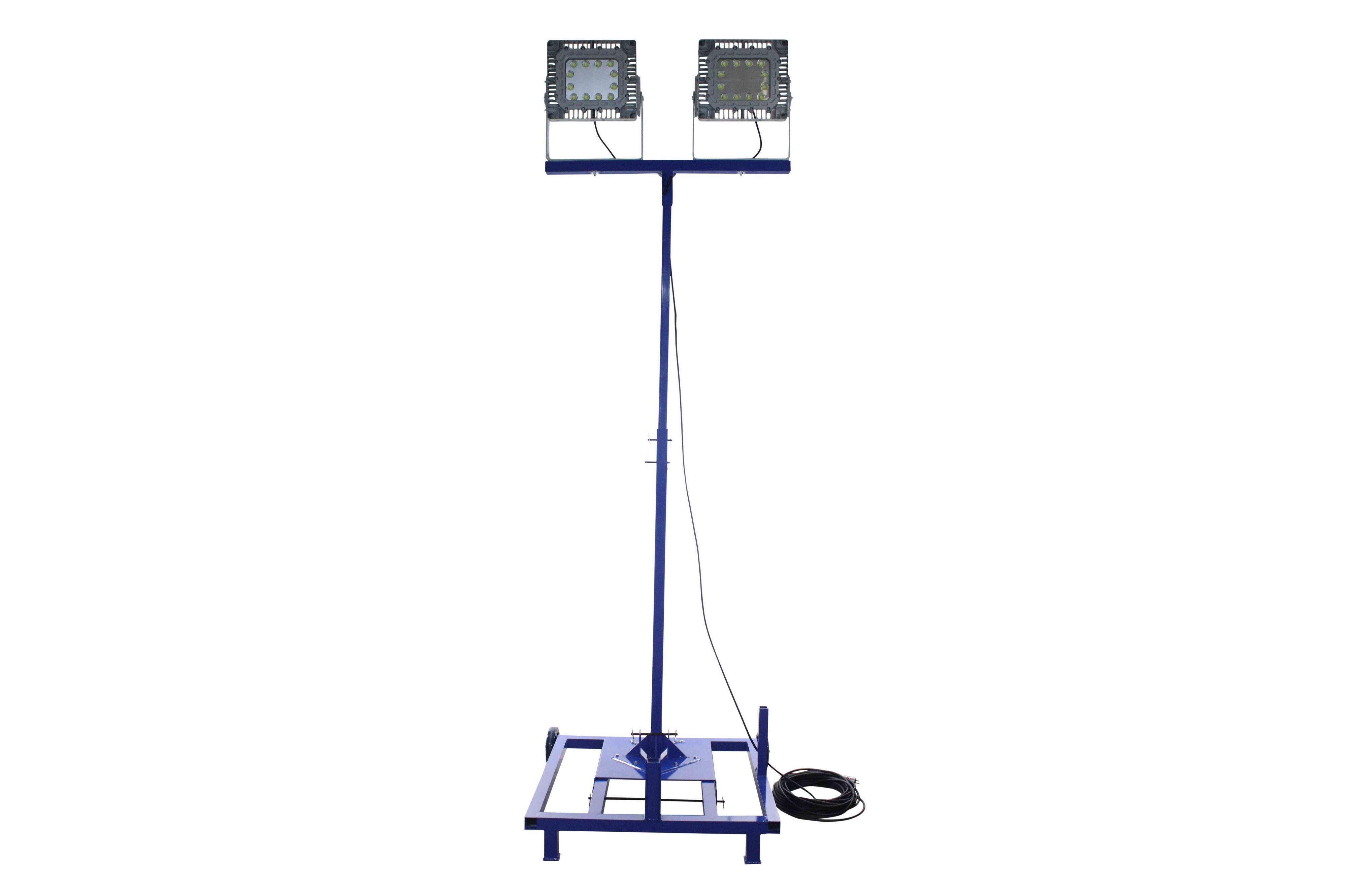 300 Watt Hazardous Location Extendible Led Light Tower W