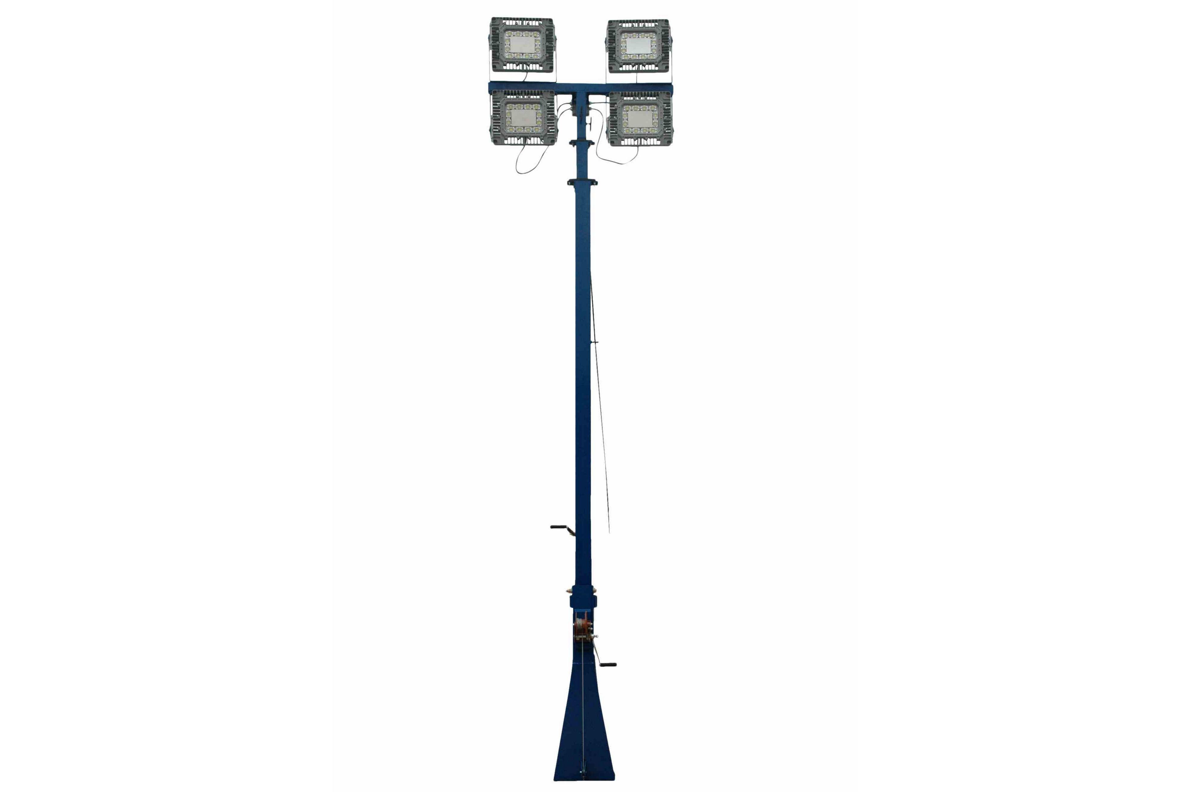 480V 600 Watt LED Hazardous Location 30ft Light Mast