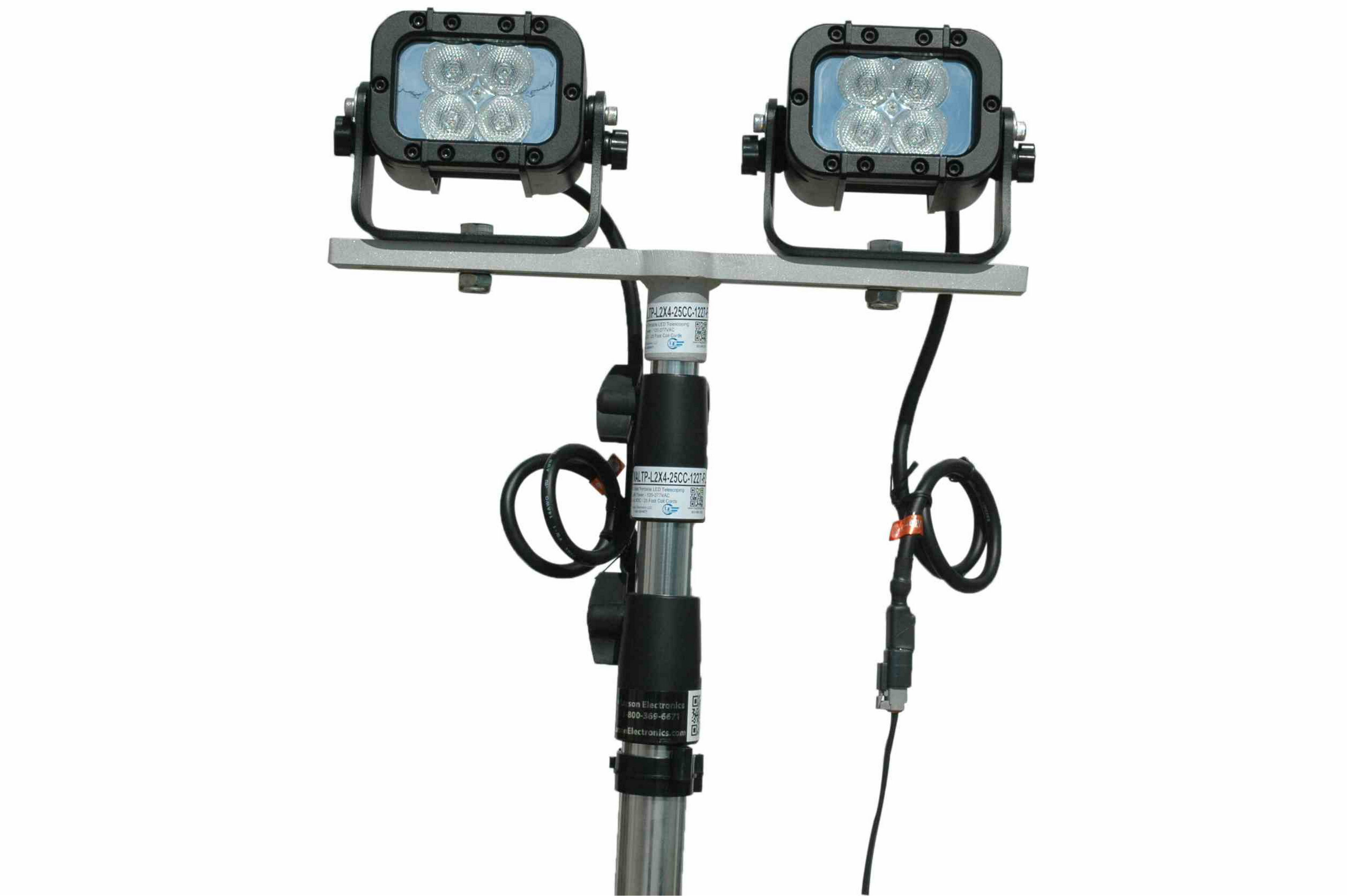 24 Watt Portable Led Telescoping Light Tower
