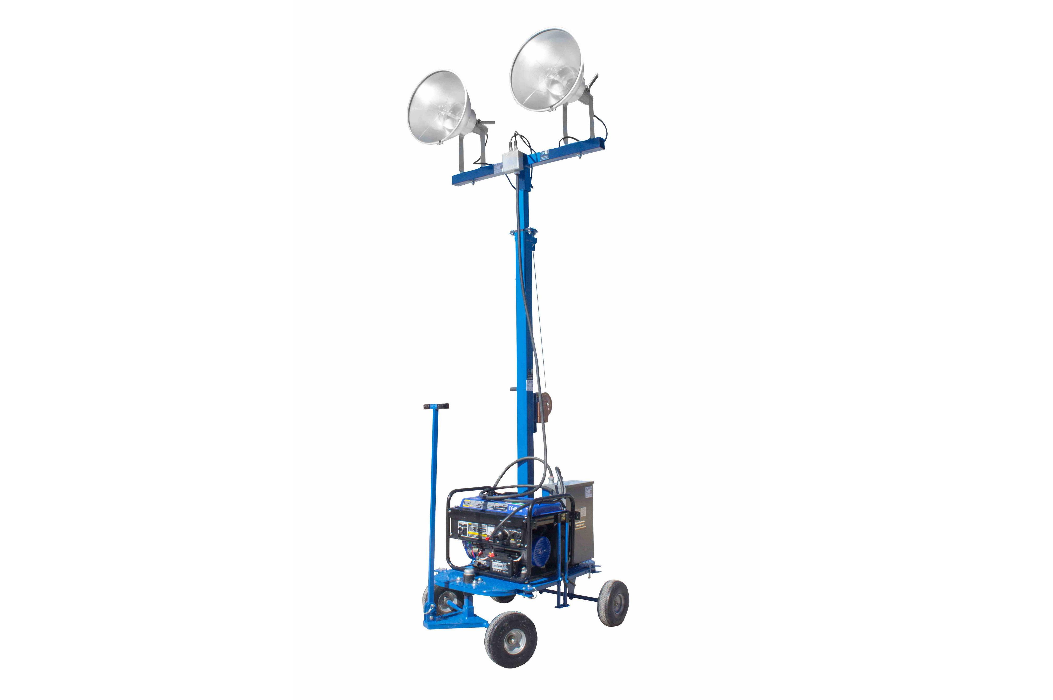 Rental Mini Light Tower With Va Generator