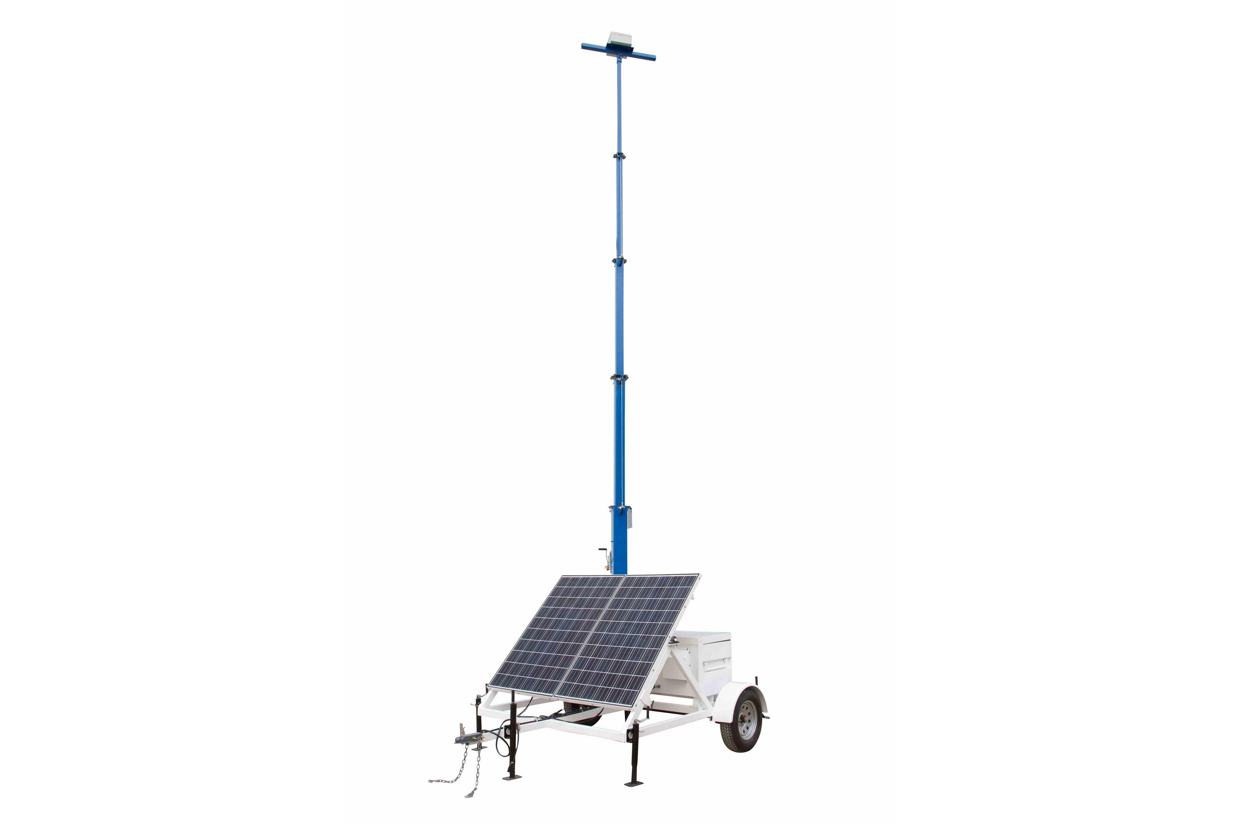 Portable Solar 30 Light Tower