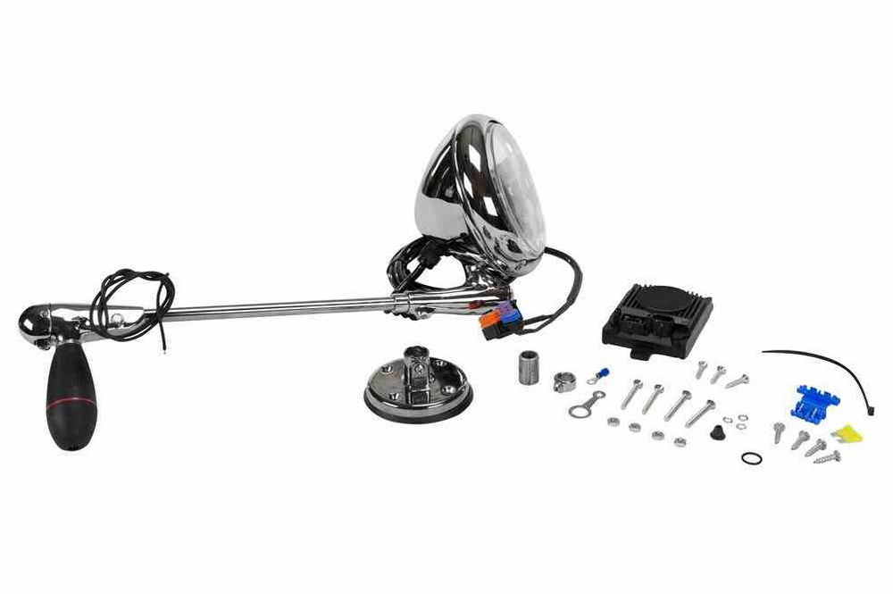 Roof Mount HID Spotlight with Manual Handle Control