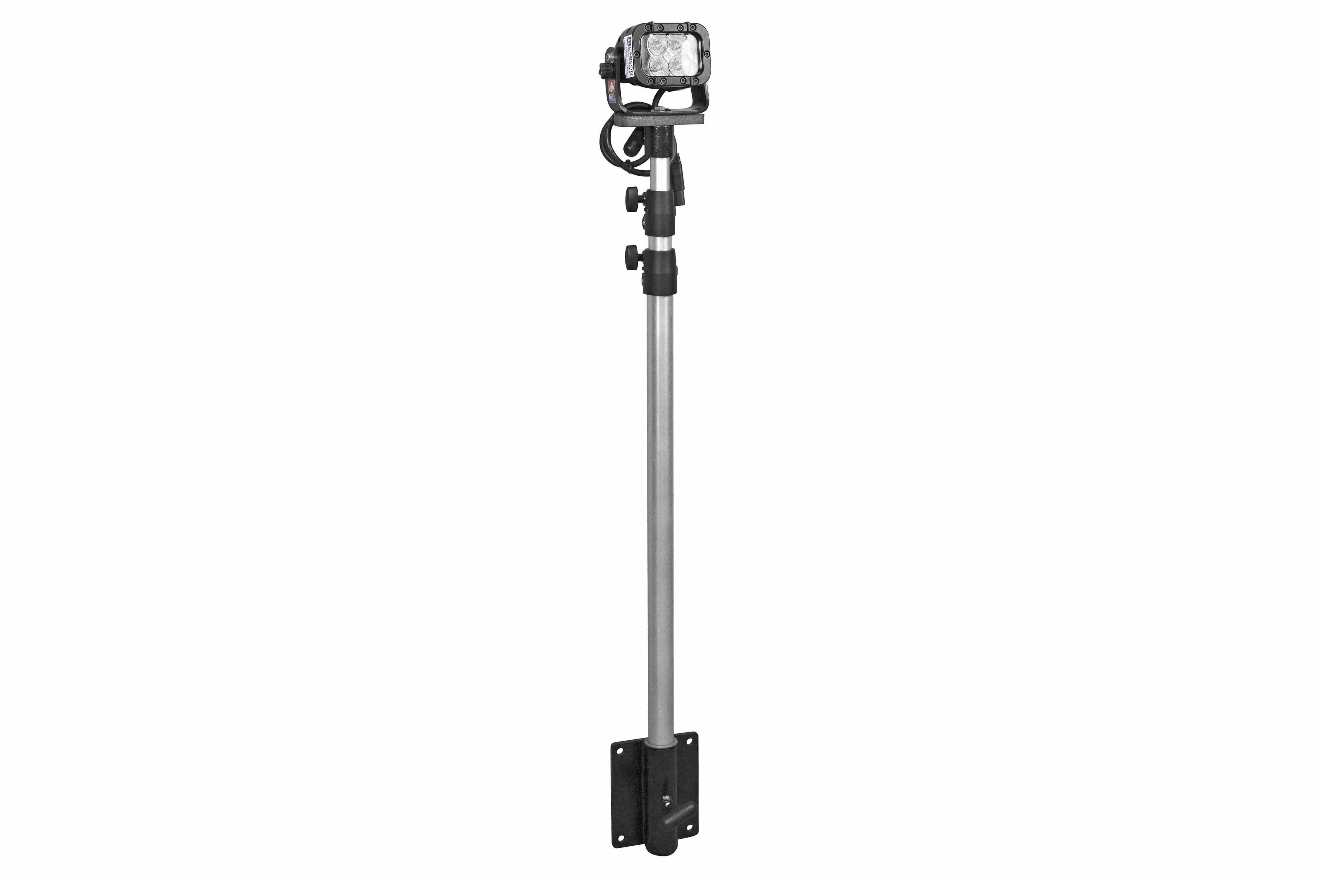 12 Watt Portable Led Telescoping Light Pole