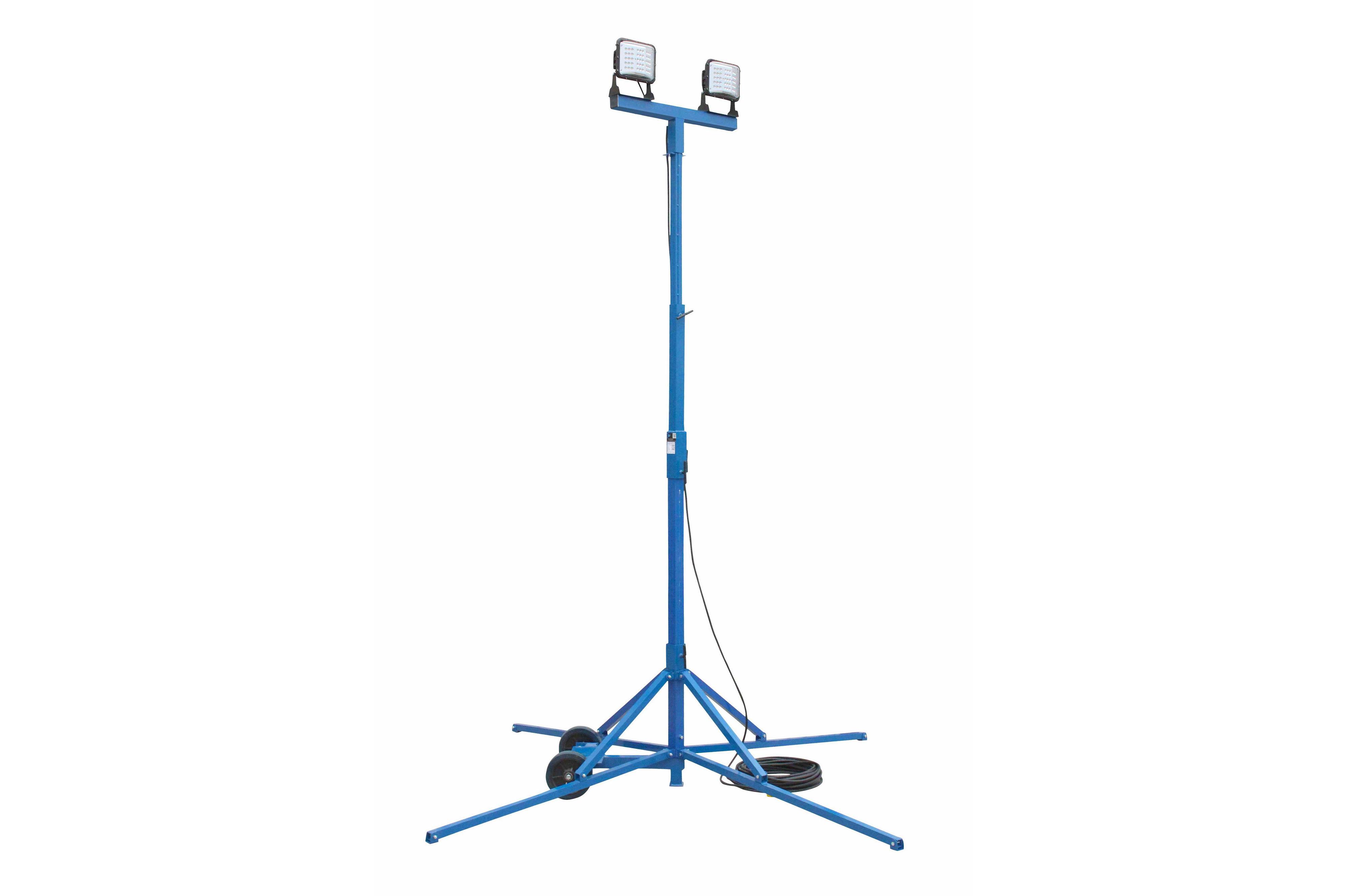 halogen work light wiring diagram 02 trailblazer stereo 120 watt led area quadpod fixture 500