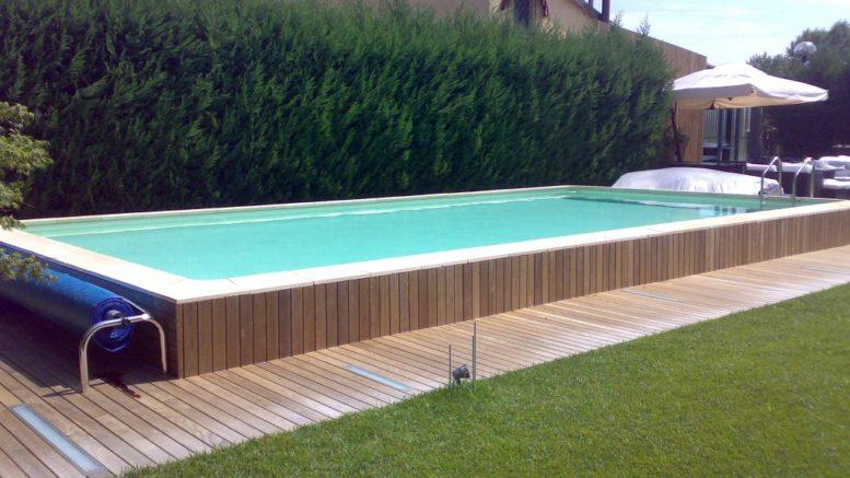 Le piscine fuori terra per giardini e terrazzi