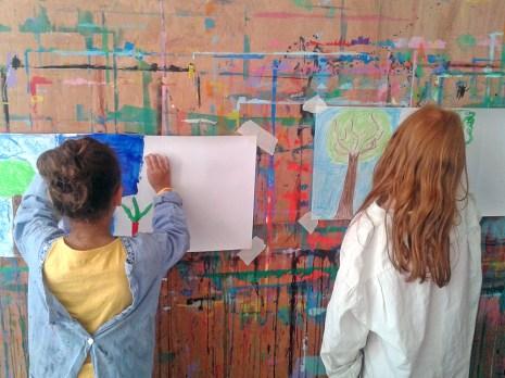 L'art et la matière : atelier d'expression 2