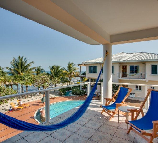 Placencia Belize 2BR Oceanfront Suites-2