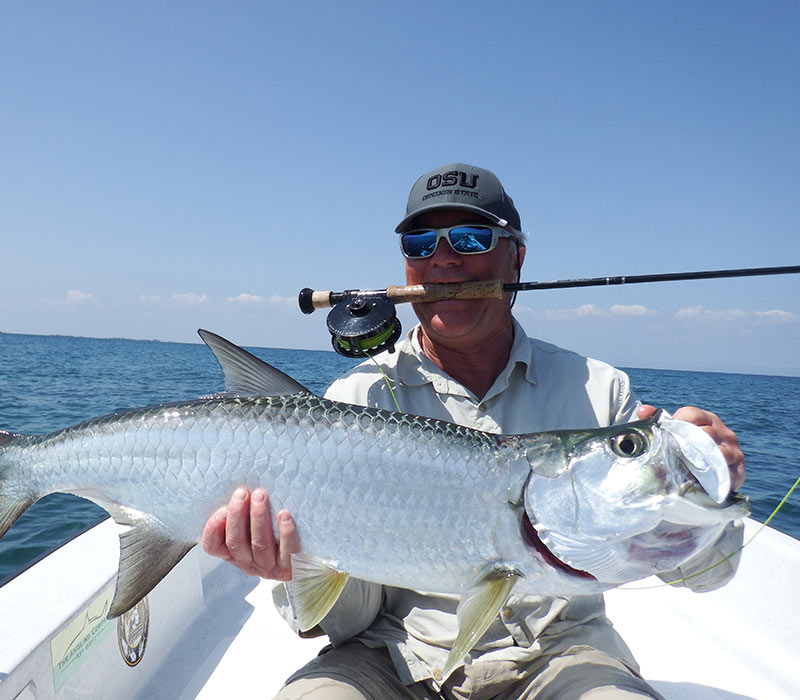 Belize fishing tours- fly