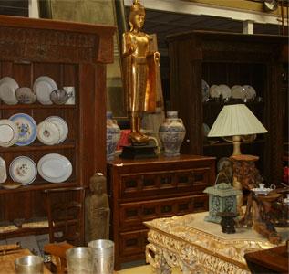 Muebles y Antigedades la Rueca venta de antiguedades