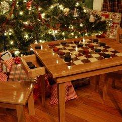 9 Piece Kitchen Table Set Retro Appliances Custom Kids Checkerboard Set, Saratoga Ny