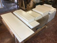 Custom Solid Wood Kitchen Cabinet Doors and Drawers ...
