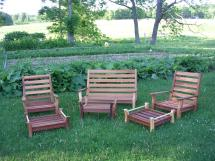 custom outdoor furniture set saratoga