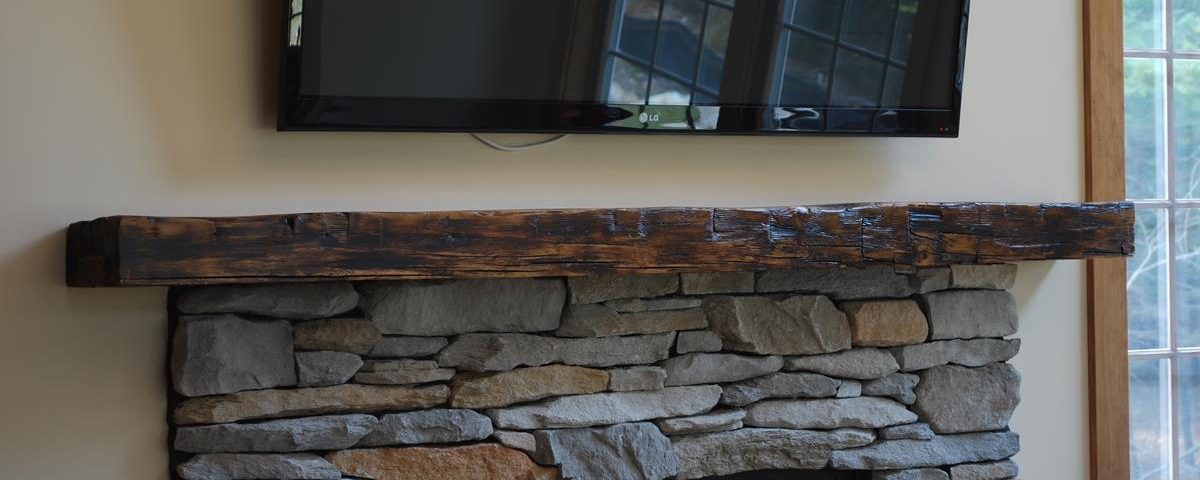outdoor kitchen pavilion designs mexican style custom reclaimed barn beam mantel, saratoga ny