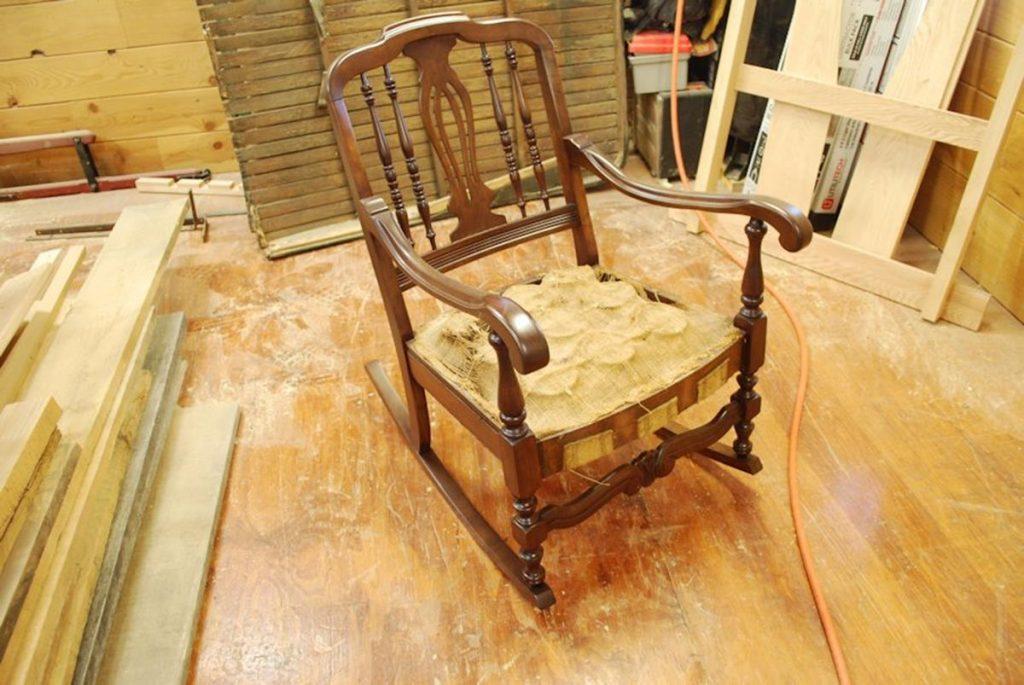 antique lawn chairs sport brella recliner chair uk custom restoration of rocking chair, saratoga ny