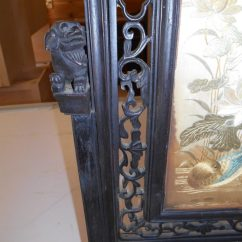 Restoring Kitchen Cabinets Wall Mounted Table Custom Asian Art Piece Repair, Saratoga County Ny