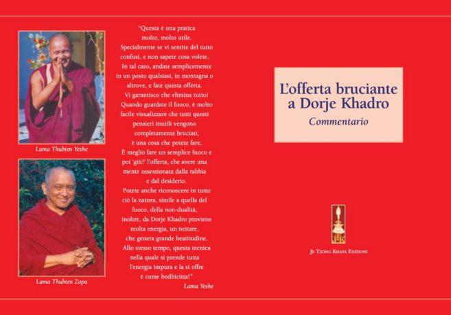 Commentario a L'Offerta Bruciante a Dorje Khandro