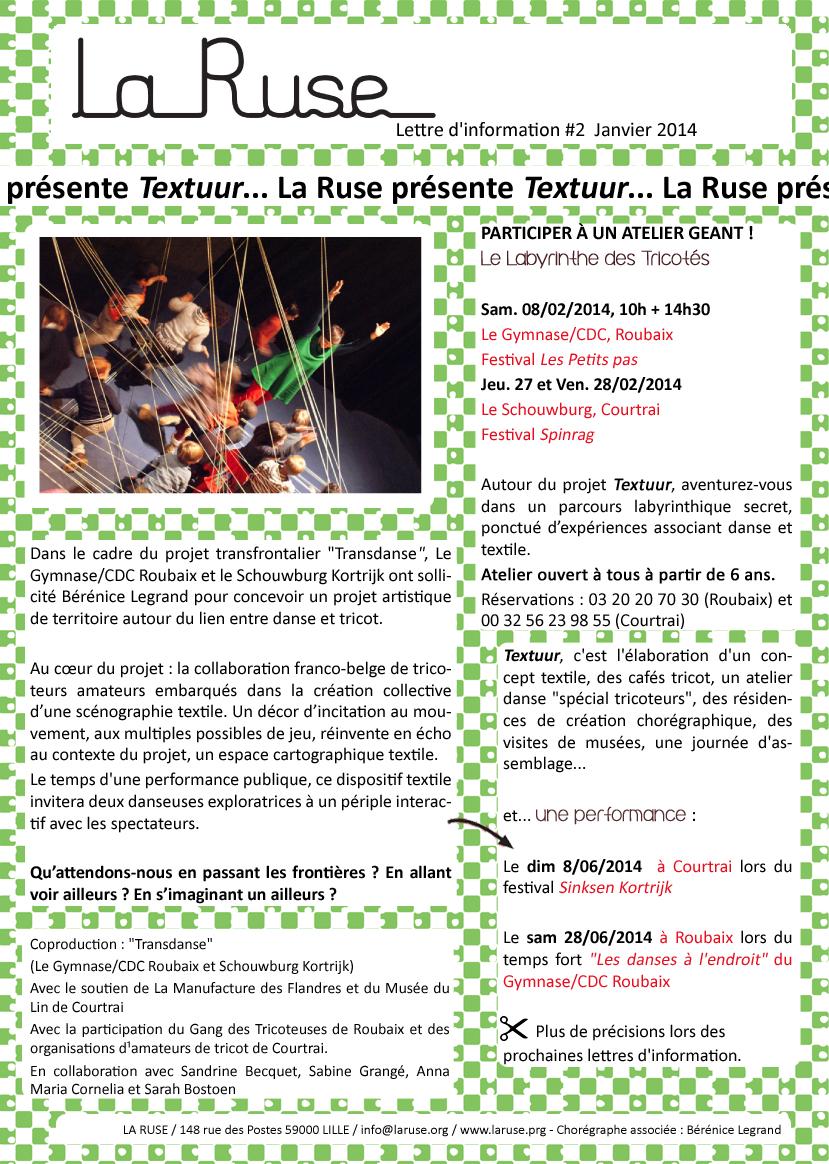 Lettre d'info#2 La Ruse2