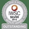 IWSC Médaille d'argent exceptionnel