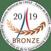 Palmarès National de l'AVGF médaille de bronze