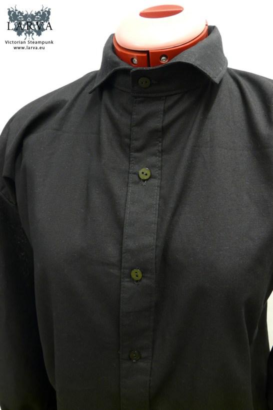 victorian-shirt-black_folded-collar