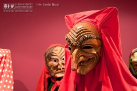 Auch die Hexen sind mit vielen Klassikern vertreten - unter ihnen das Schrättele aus Bad Waldsee