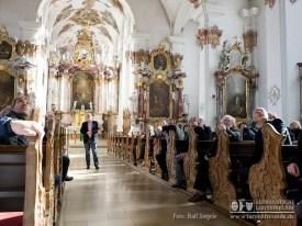 Die im üppigen Stile des Barock ausgeschmückte Predigerkirche faszinierte vor allem durch ihre Deckengemälde