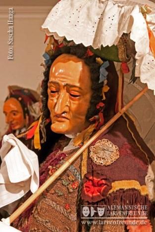 Höchste bildhauerische Schnitzkunst spiegelt sich in der Larve von s'Fanz Amma(n)s wider
