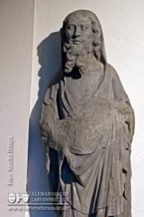 In der Lorenzkapelle werden wertvolle Stücke mittelalterlicher Steinbildhauerkunst aufgewahrt