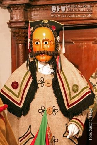 'Ronnys Schantle' - eine Einzellarve, benannt nach seinem blutvollen menschlichen Vorbild