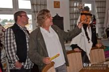 Unser Schömberger Larvenfreund Rudolf Schmidberger ist selbst enthusiastischer Fasnachter und Larvenschnitzer, dern neben den klassischen Schömberger Larven auch freie Maskierungen zum 'Maschgere' schnitzt