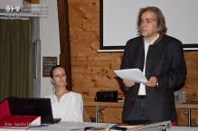 Wolfgang Koch bei seinem Jahresbericht