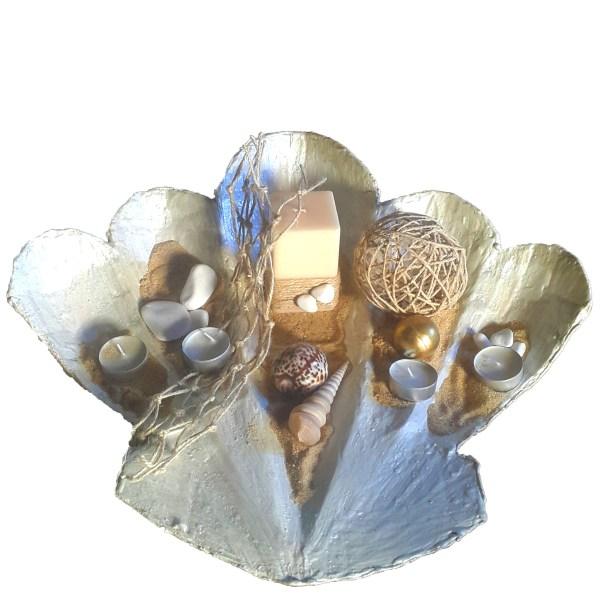 istiridye dekoratif tabak